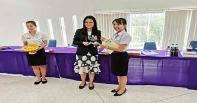 สาขาวิชาคณิตศาสตร์ขอแสดงความยินดีกับ  นางสาวกัณตา พวงใต้ นักศึกษาปีที่สาม สาขาวิชาคณิตศาสตร์ คณะวิทยาศาสตร์และเทคโนโลยี ได้รับรางวัลนำเสนอแบบบรรยายชนะเลิศอันดับหนึ่ง (ประเภคดีเด่น)